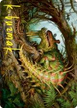 [アート・カード] 厄介な害獣、ブレックス/Blex, Vexing Pest No.022 (箔押し版) 【英語版】 [STX-トークン]