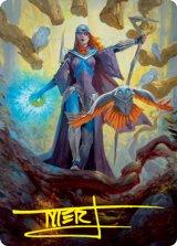 [アート・カード] 謎の賢者、カズミナ/Kasmina, Enigma Sage No.029 (箔押し版) 【英語版】 [STX-トークン]