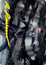 [アート・カード] 墨の決闘者、キリアン/Killian, Ink Duelist No.030 (箔押し版) 【英語版】 [STX-トークン]