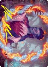 [アート・カード] 気まぐれな芸術家、ルーサ/Rootha, Mercurial Artist No.038 (箔押し版) 【英語版】 [STX-トークン]