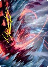 [アート・カード] 凍沸の交錯/Frostboil Snarl No.047 (箔押し版) 【英語版】 [STX-トークン]