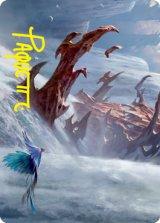 [アート・カード] 島/Island No.049 (箔押し版) 【英語版】 [STX-トークン]