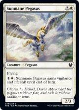 陽光たてがみのペガサス/Sunmane Pegasus 【英語版】 [THB-白C]