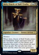 半真実の神託者、アトリス/Atris, Oracle of Half-Truths 【英語版】 [THB-金R]《状態:NM》