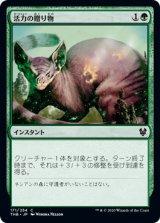 活力の贈り物/Gift of Strength 【日本語版】 [THB-緑C]