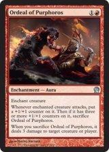 パーフォロスの試練/Ordeal of Purphoros 【英語版】 [THS-赤U]《状態:NM》