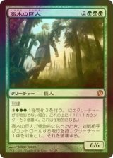 [FOIL] 高木の巨人/Arbor Colossus 【日本語版】 [THS-緑R]
