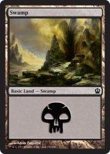 沼/Swamp No.240 【英語版】 [THS-土地]