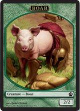 猪/Boar 【英語版】 [THS-トークン]