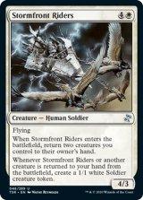 嵐前線の乗り手/Stormfront Riders 【英語版】 [TSR-白U]