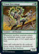 原初の腕力魔道士/Primal Forcemage 【英語版】 [TSR-緑U]