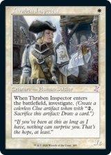 スレイベンの検査官/Thraben Inspector (旧枠) 【英語版】 [TSR-白TS]