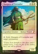 [FOIL] コロンドールのマンガラ/Mangara of Corondor 【英語版】 [TSR-白R]