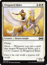 天馬の乗り手/Wingsteed Rider 【英語版】 [UMA-白C]