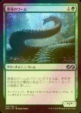 [FOIL] 骨塚のワーム/Boneyard Wurm 【日本語版】 [UMA-緑U]