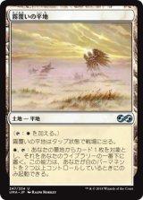 霧覆いの平地/Mistveil Plains 【日本語版】 [UMA-土地U]