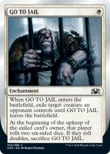 GO TO JAIL 【英語版】 [UND-白C]《状態:NM》
