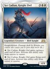 Syr Cadian, Knight Owl 【英語版】 [UND-白R]《状態:NM》