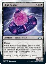 Skull Saucer 【英語版】 [UND-黒U]