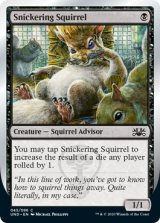 Snickering Squirrel 【英語版】 [UND-黒C]《状態:NM》