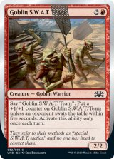 Goblin S.W.A.T. Team 【英語版】 [UND-赤C]《状態:NM》