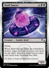 Skull Saucer 【英語版】 [UST-黒U]