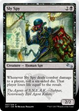 Sly Spy 《F》 【英語版】 [UST-黒U]
