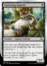 Snickering Squirrel 【英語版】 [UST-黒C]