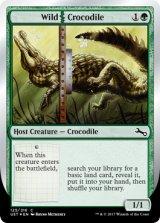 Wild|Crocodile 【英語版】 [UST-緑C]