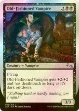 [FOIL] Old-Fashioned Vampire 【英語版】 [UST-黒U]