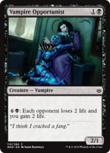 日和見吸血鬼/Vampire Opportunist 【英語版】  [WAR-黒C]