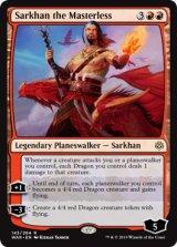 主無き者、サルカン/Sarkhan the Masterless 【英語版】  [WAR-赤R]《状態:NM》