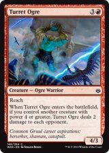 砲塔のオーガ/Turret Ogre 【英語版】  [WAR-赤C]