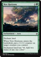 新たな地平/New Horizons 【英語版】  [WAR-緑C]