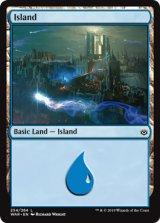 島/Island No.254 【英語版】  [WAR-土地C]