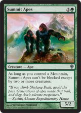 頂の猿人/Summit Apes 【英語版】 [WWK-緑U]《状態:NM》