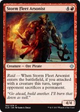 風雲艦隊の放火魔/Storm Fleet Arsonist 【英語版】 [XLN-赤U]