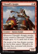ティロナーリの騎士/Tilonalli's Knight 【英語版】 [XLN-赤C]