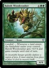 ベイロスの林壊し/Baloth Woodcrasher 【英語版】 [ZEN-緑U]《状態:NM》