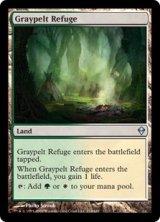 灰色革の隠れ家/Graypelt Refuge 【英語版】 [ZEN-土地U]《状態:NM》