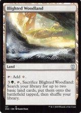 荒廃した森林/Blighted Woodland 【英語版】 [ZNC-土地U]