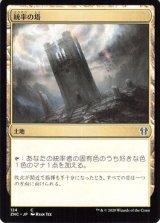 統率の塔/Command Tower 【日本語版】 [ZNC-土地C]
