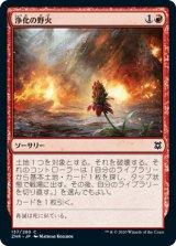 浄化の野火/Cleansing Wildfire 【日本語版】 [ZNR-赤C]《状態:NM》