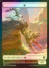 [FOIL] 猫/Cat 【日本語版】 [ZNR-トークン]