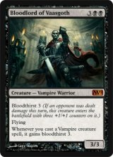 ヴァーズゴスの血王/Bloodlord of Vaasgoth 【英語版】 [M12-黒MR]
