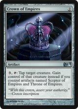 帝国の王冠/Crown of Empires 【英語版】 [M12-アU]《状態:NM》