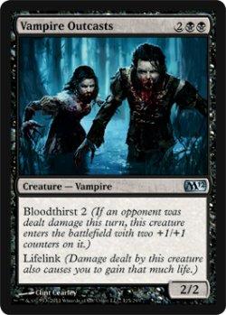 画像1: 吸血鬼ののけ者/Vampire Outcasts 【英語版】 [M12-黒U]